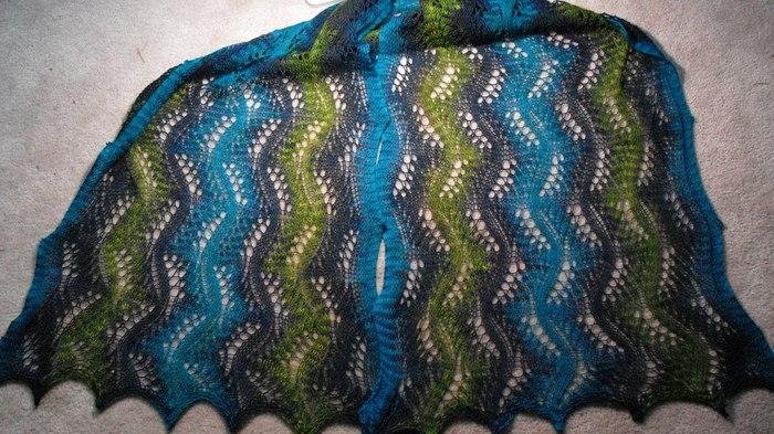 """针织:"""" 镂空围巾 2 """" - maomao - 我随心动"""