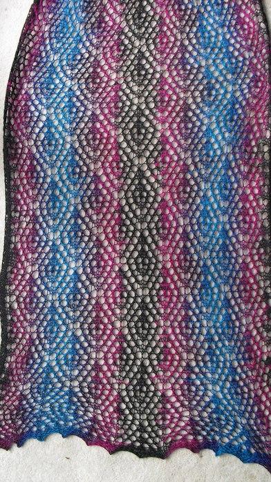 """针织:"""" 镂空围巾 3 """" - maomao - 我随心动"""