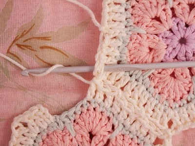 Цветочный фрагмент крючком АФРИКАНСКИЙ ЦВЕТОК для вязания игрушек (38) (400x300, 110Kb)
