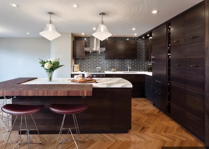 Современный дизайн кухни. ФОТО (14) (690x492, 703Kb)