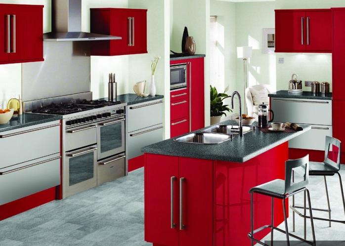 Современный дизайн кухни. ФОТО (26) (698x498, 755Kb)