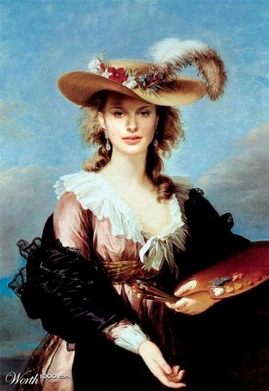 портреты знаменитостей 5 (393x570, 134Kb)