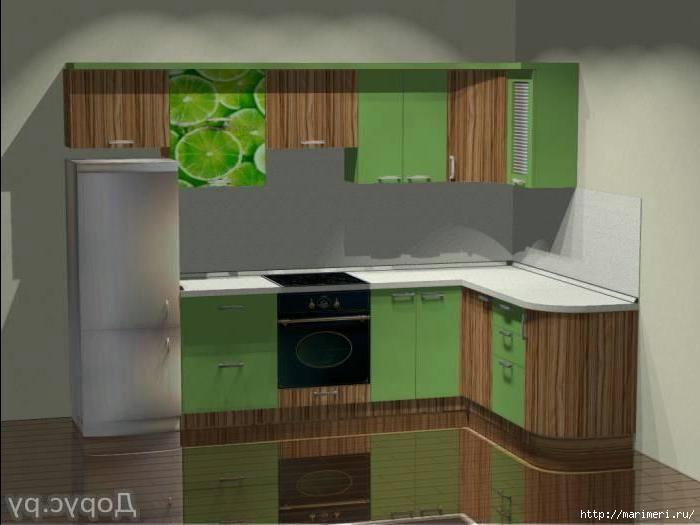Эконом класса кухни дизайн