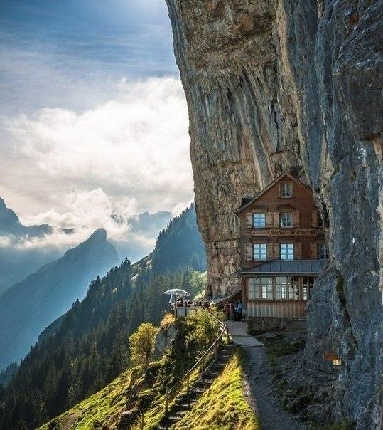 дом в горах (539x604, 87Kb)