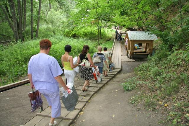 Паломническая поездка на Семиключье
