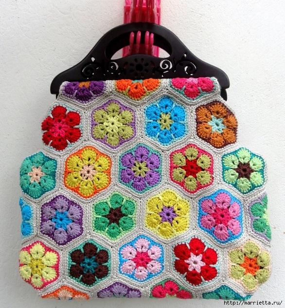 цветочный фрагмент крючком АФРИКАНСКИЙ ЦВЕТОК (5) (586x634, 366Kb)
