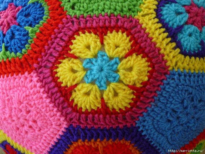 цветочный фрагмент крючком АФРИКАНСКИЙ ЦВЕТОК (11) (700x525, 386Kb)