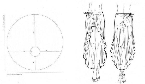 моделей одежды без шитья