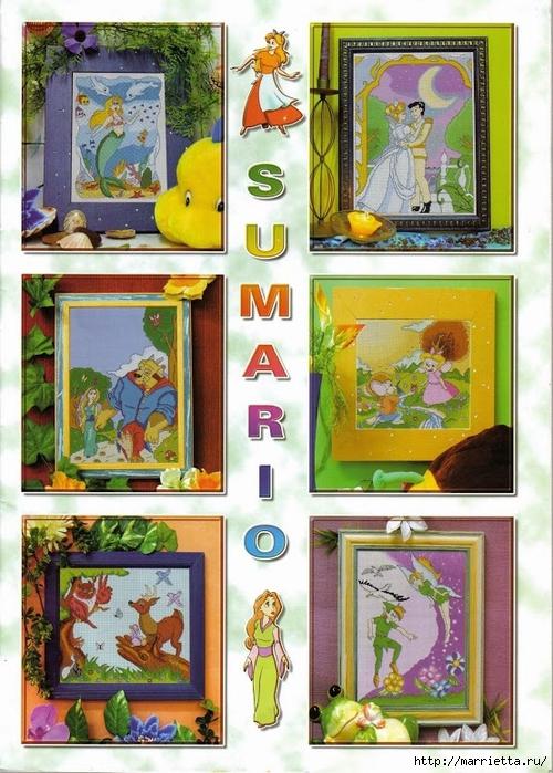 схемы вышивки героев диснеевских мультфильмов (3) (500x700, 329Kb)