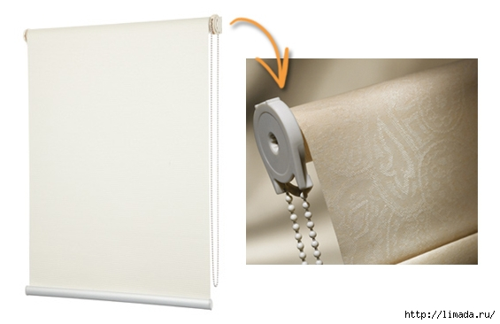 Roller Blind Mechanism and Chain (565x366, 76Kb)