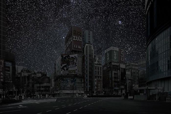 Звёздное небо над тёмными городами