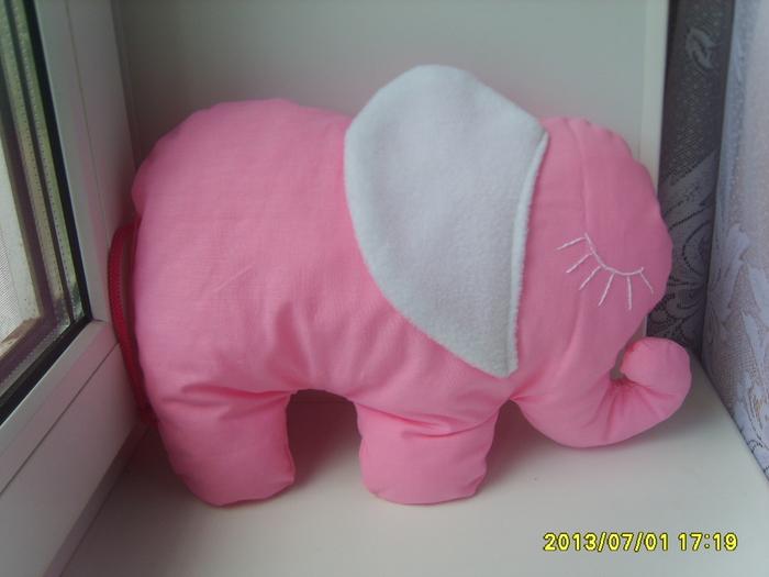 Сшить подушку слоника