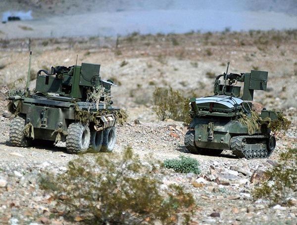 Впечатляющие военные роботы