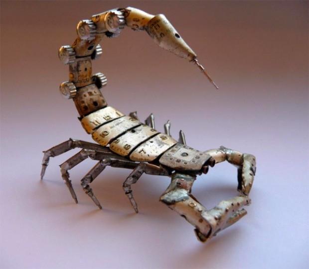 миниатюрные насекомые Джастин Гершензон-Гейтс  6 (620x541, 132Kb)