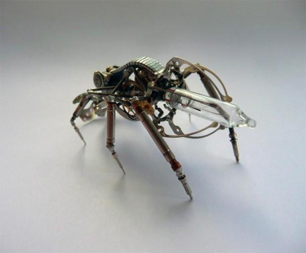 миниатюрные насекомые Джастин Гершензон-Гейтс  8 (620x512, 116Kb)