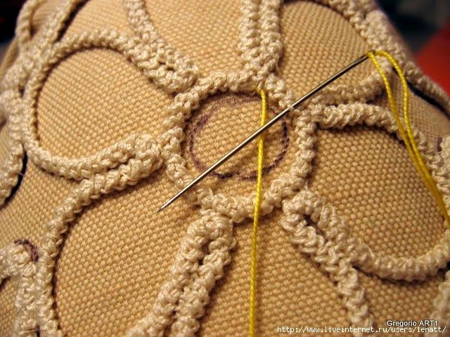 罗马尼亚花边:针织技术 2 - maomao - 我随心动