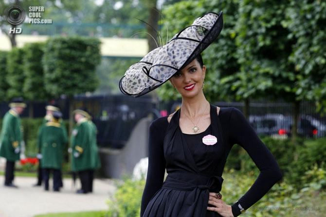 модные женские шляпки на Royal Ascot 9 (670x447, 149Kb)