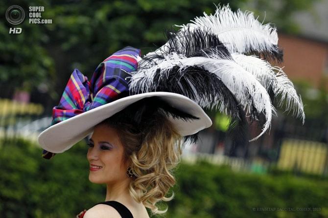 модные женские шляпки на Royal Ascot 11 (670x447, 157Kb)