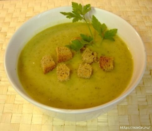 Суп-пюре из кабачков, рецепт с фото, отзывы