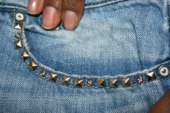 шорты из джинсов, переделка и украшение (3) (581x386, 615Kb)