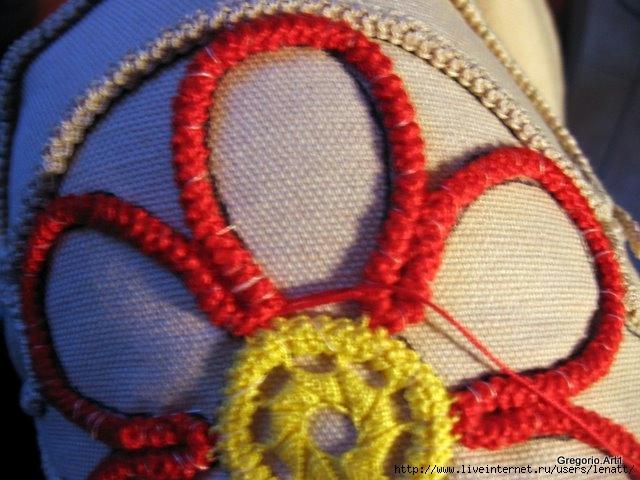 罗马尼亚花边:针织技术 8 - maomao - 我随心动