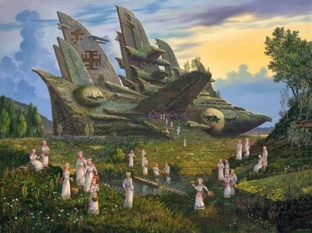 Художник Всеволод Иванов. Подлинная история Ведической Руси