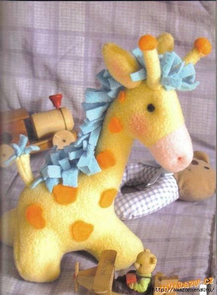 сшить жирафа. выкройка жирафа (2) (441x600, 119Kb)