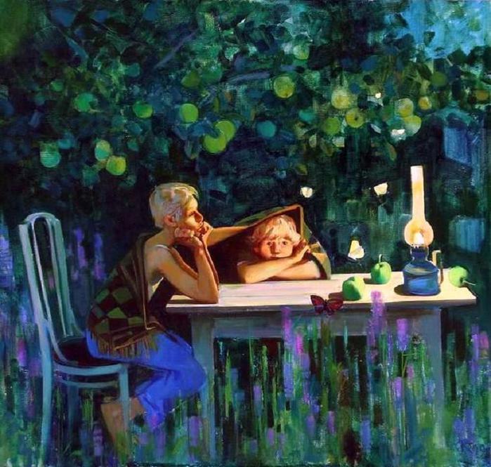 C.Кичко Летняя ночь (700x665, 80Kb)