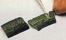 Овощной карвинг. Украшение салатов (2) (211x128, 24Kb)