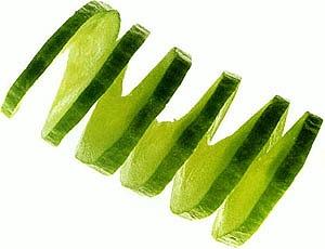 Овощной карвинг. Украшение салатов (17) (300x230, 50Kb)