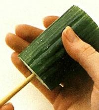 Овощной карвинг. Украшение салатов (18) (200x223, 30Kb)