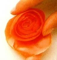 Овощной карвинг. Украшение салатов (42) (190x200, 26Kb)