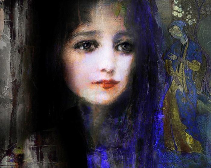 Молчащая девушка фото