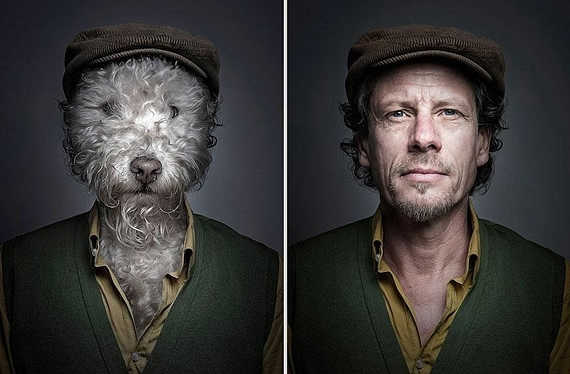 портреты хозяев со своими собаками фото 3 (570x374, 124Kb)