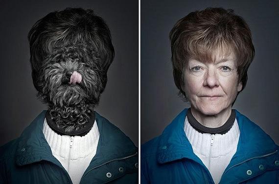 портреты хозяев со своими собаками фото 5 (570x375, 117Kb)
