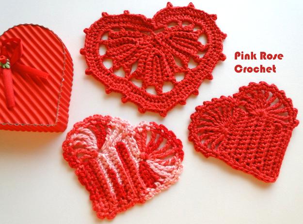 сердечное вязание крючком. сафетки крючком схемы (8) (625x463, 565Kb)