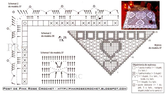 сердечное вязание крючком. сафетки крючком схемы (10) (700x397, 263Kb)