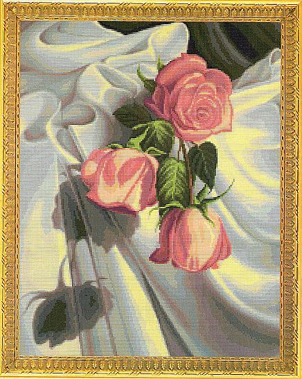 три розы (436x546, 241Kb)