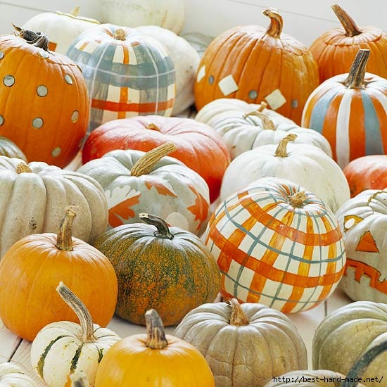 plaid-painted-pumpkins (550x550, 212Kb)