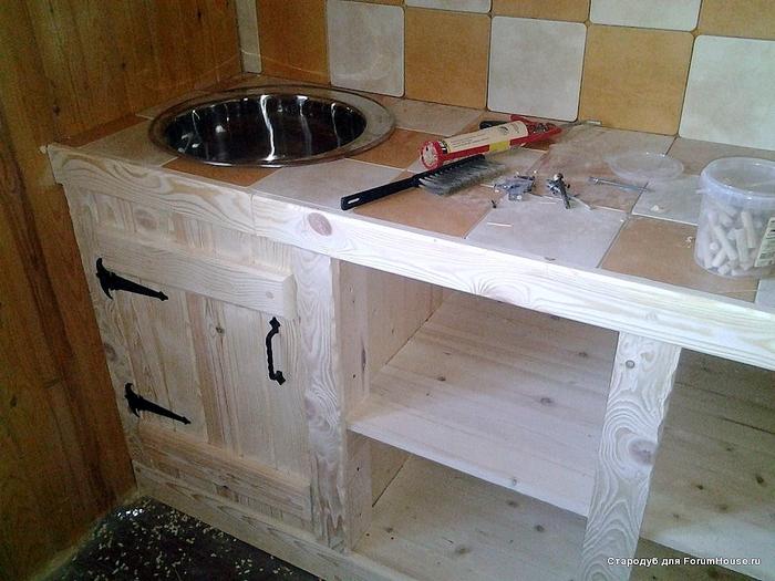 [Как сделать кухню своими руками размером