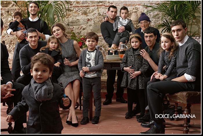 Детская коллекция осень-зима 2014 Dolce & Gabbana