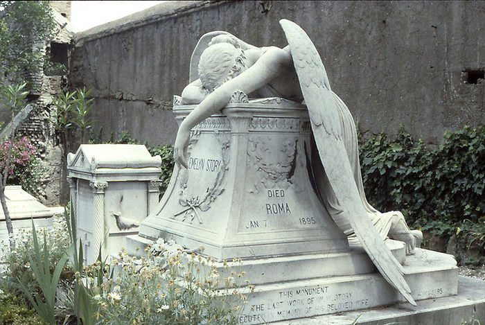 Картинки по запросу «Ангел скорби», рим