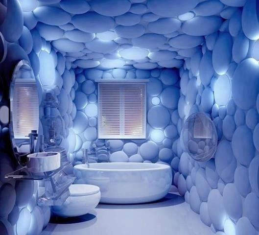 Bathroom wallpaper ideas
