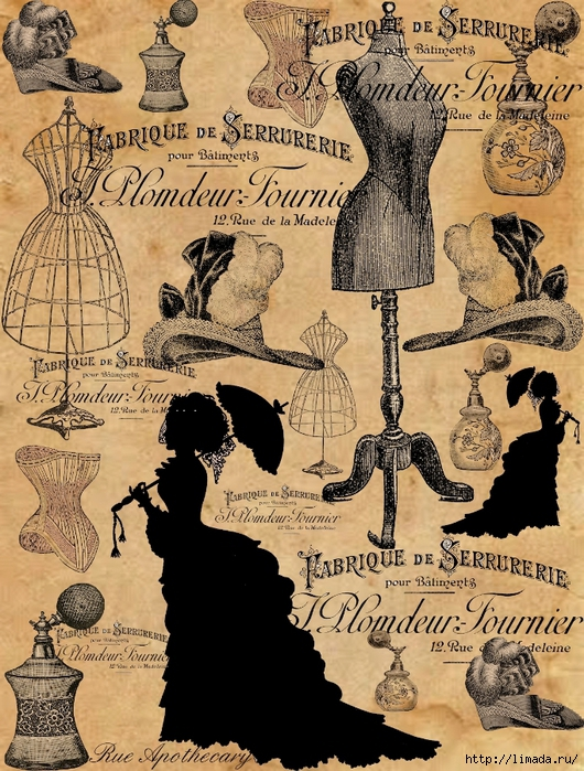 Rue Apothecary - Victorian Fashion Collage (530x700, 401Kb)