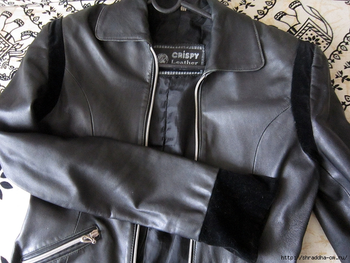роспись куртки акрилом, автор Shraddha (1) (700x525, 311Kb)