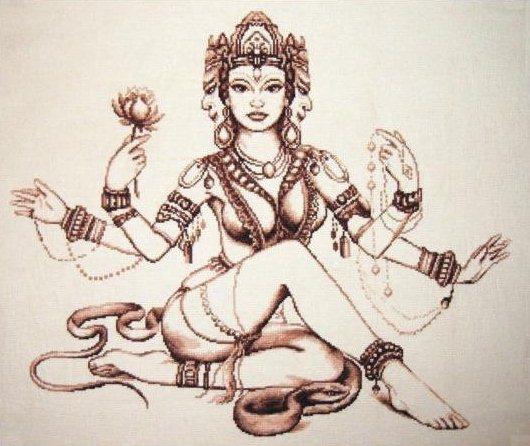 Gallery.ru / Мифы Индии - Вышивка 2012 - Sivetka.