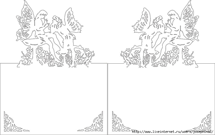 The Art of Kirigami ANGEL PLAYING THE FLUTE (700x439, 119Kb)