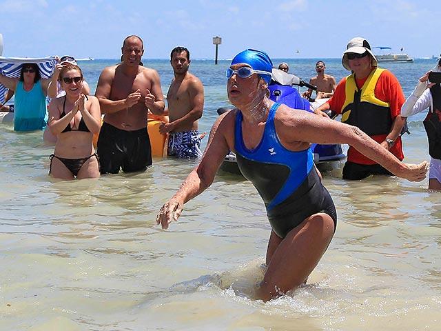 Дайана Найада переплыла флоридский пролив 4 (640x480, 307Kb)