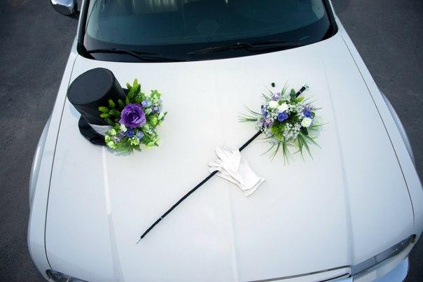 Как сделать украшение на машину своими руками на свадьбу