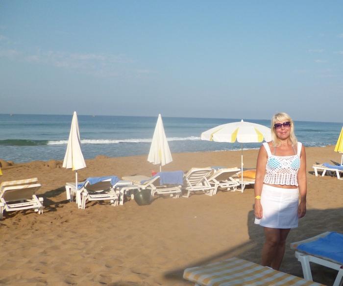 Пляжная туника сетка
